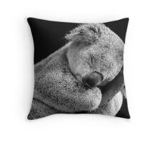 Wake Me Later - Sleeping Koala Throw Pillow