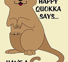 Happy Quokka by mstiv