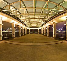 HK Central Ferry Pier 9 - Panoramic by HKart
