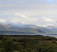 Cuillin Mountain range - Panorama by Maria Gaellman