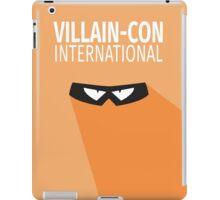 Villain Con International iPad Case/Skin