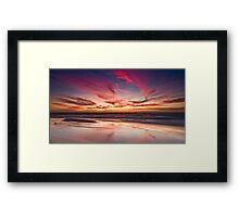 Cottesloe Beach, Perth, WA Framed Print