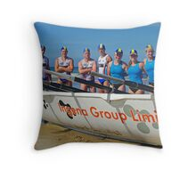 Torquay's young guns Throw Pillow