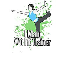 I Main Wii Fit Trainer - Super Smash Bros. Photographic Print