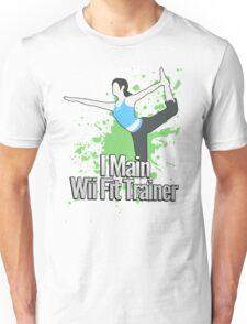 I Main Wii Fit Trainer - Super Smash Bros. Unisex T-Shirt