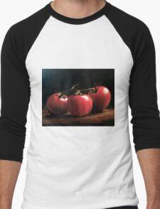 Three Tomatoes Men's Baseball ¾ T-Shirt