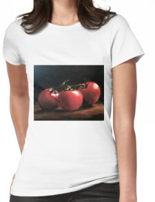 Three Tomatoes Womens Fitted T-Shirt