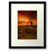 After Sunset Framed Print