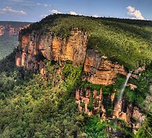 Jurasic - Govetts Leap, Blue Mountains World Heritage Area, Sydney - The HDR Experience by Philip Johnson
