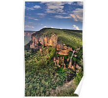 Jurasic - Govetts Leap, Blue Mountains World Heritage Area, Sydney - The HDR Experience Poster