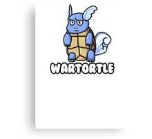 Wartortle is Judging You Canvas Print