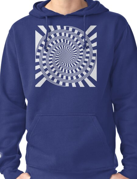 Self-Moving Unspirals Pullover Hoodie