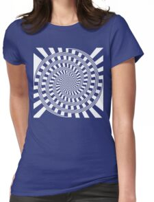Self-Moving Unspirals Womens Fitted T-Shirt