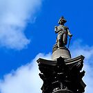 Nelson's Column, London by crashbangwallop