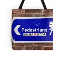 Beautiful Pedestrians Tote Bag