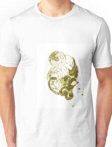 Asian Girls- Kissaeng :Pseudo Pompous Gold Unisex T-Shirt