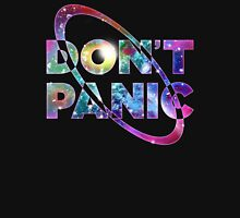 Hitchhikers Don't Panic Mens V-Neck T-Shirt