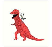 Jurassic Bat  Art Print
