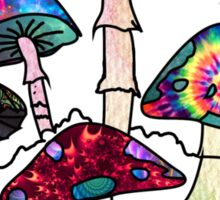 Garden of Shroomz Sticker