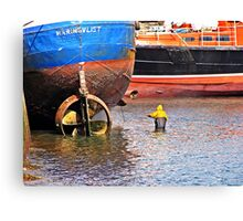 """"""" They breed them tough in Brixham"""" Canvas Print"""
