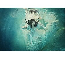 OCEANIC FAIRYTALES - The maiden's stride Photographic Print