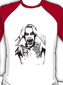 Joker Black & White  T-Shirt