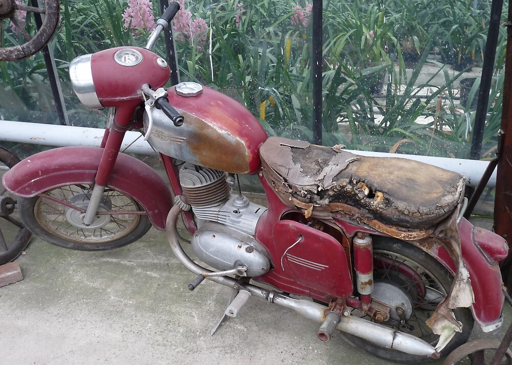 Old Moped by angeljootje