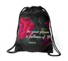 Travel Quote Drawstring Bag