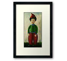Happy Dwarf Framed Print