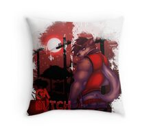 Nights Whisper Throw Pillow