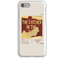 Catcher In The Rye - Vintage Movie Poster Style iPhone Case/Skin