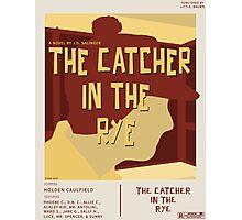 Catcher In The Rye - Vintage Movie Poster Style Photographic Print