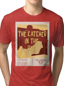 Catcher In The Rye - Vintage Movie Poster Style Tri-blend T-Shirt