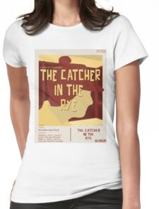 Catcher In The Rye - Vintage Movie Poster Style Womens Fitted T-Shirt