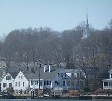 mystic connecticut by Maureen Zaharie
