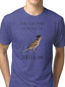Philadelphia School of Bird Law Tri-blend T-Shirt