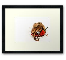 Chili Octopus Framed Print