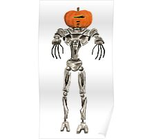 Halloween Cylon: Pumpkinhead Poster