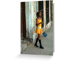Swinging Cuba! Greeting Card