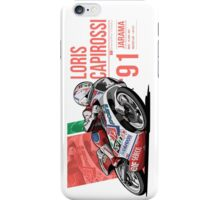 Loris Capirossi - 1991 Jarama iPhone Case/Skin