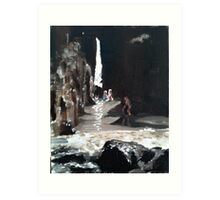Bathers at Nanjizel Art Print