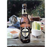 Beer Al Fresco Photographic Print