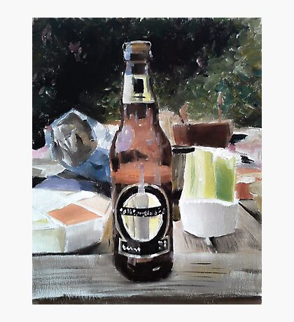 Beer Al Fresco Photographic Print