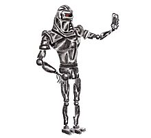 Cute Cylon taking a Selfie Photographic Print