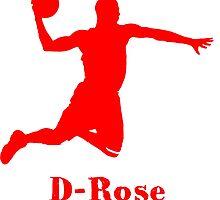 D-Rose Shadow Design by nbatextile