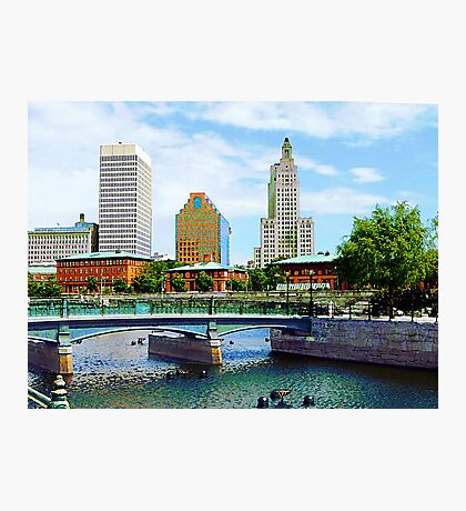 View From Waterplace Park Photographic Print
