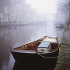 Canal In The Mist by Pepijn Sauer