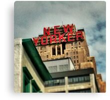 The New Yorker, NYC Canvas Print