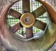 Big Rusty Fan by James Brotherton