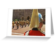 Guardsman, Windsor Castle Greeting Card